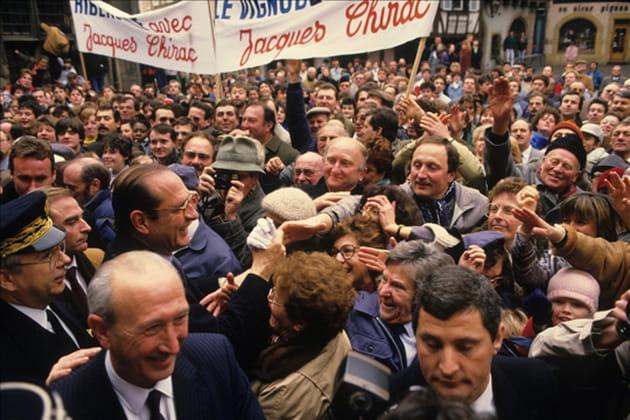 Jacques Chirac : deuxième campagne