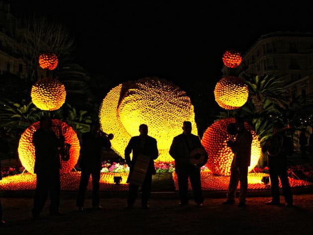 2009 : Une symphonie de citron dans les Jardins de Lumière