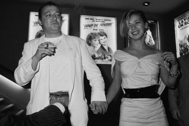 Avec Fred Romano, sa dernière compagne