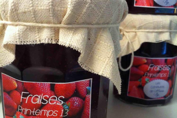 La confiture de fraises... comme on l'aime !