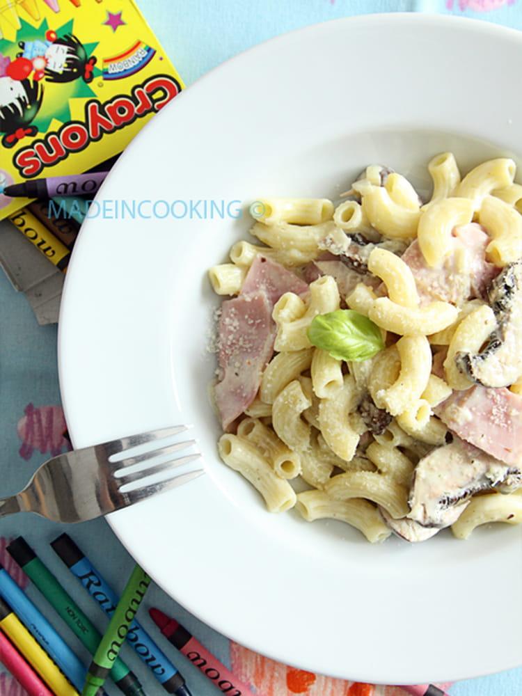 Recette de risotto de coquillettes au jambon la recette - Cuisine tv recettes 24 minutes chrono ...