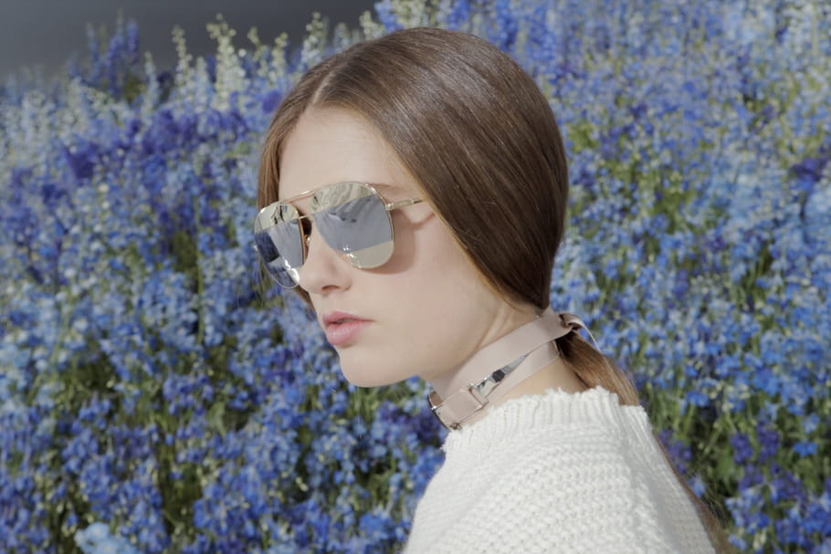 DiorSplit, les lunettes de soleil graphiques de Dior pour l'été 2016