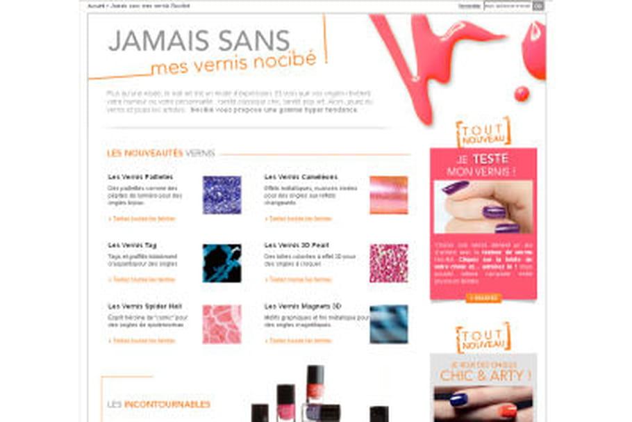 Color Test de Nocibé, un service de manucure virtuelle