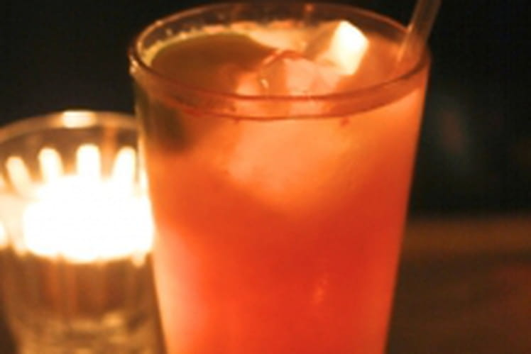Cocktails au deux agrumes et au miel