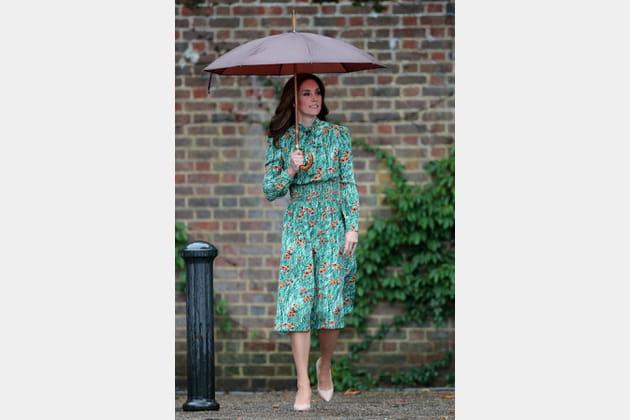 Kate Middleton le 30août 2017