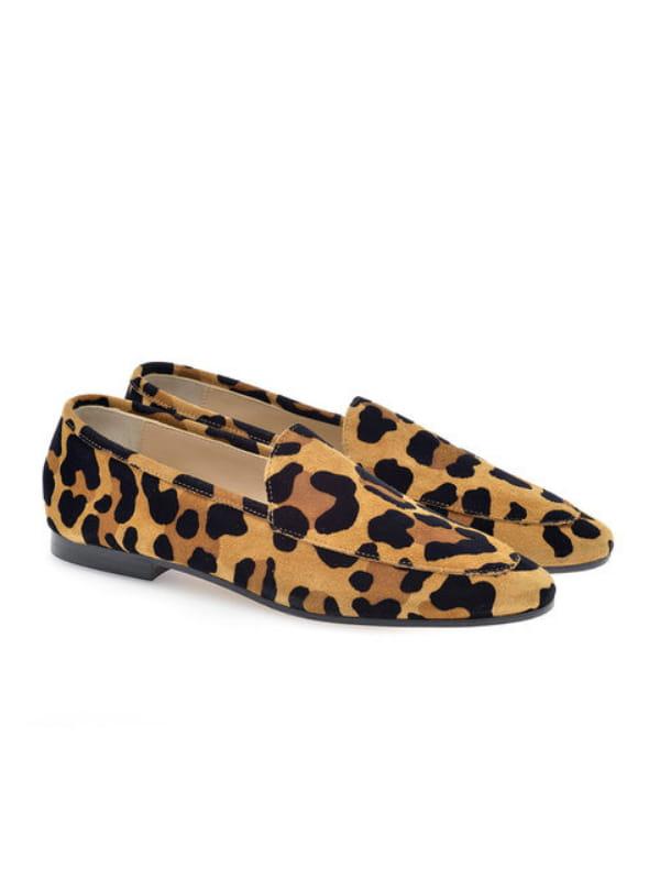 belle couleur une grande variété de modèles prix de détail Mocassins léopard de Anniel