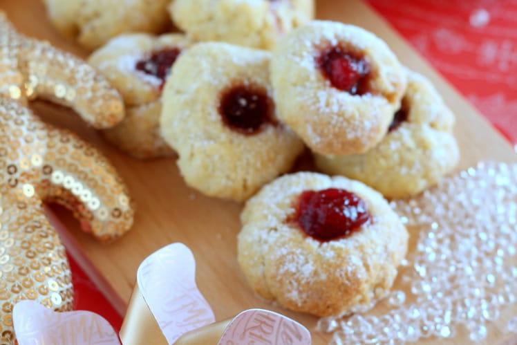 Biscuits Bredeles à la confiture d'airelles
