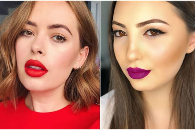 Comment porter le rouge à lèvres mat?