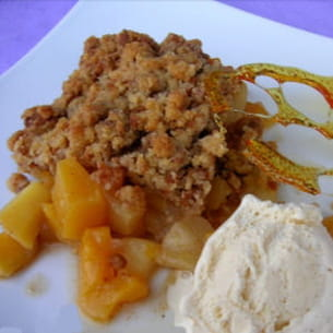 crumble exotique aux speculoos