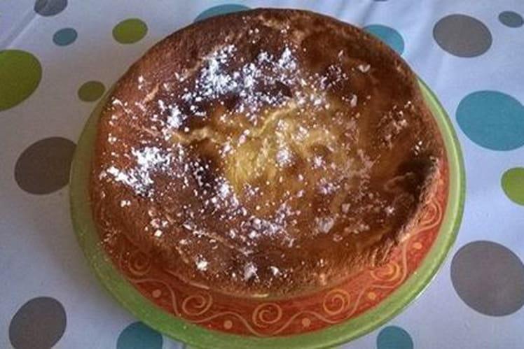 Gâteau nuage aux zestes de citron