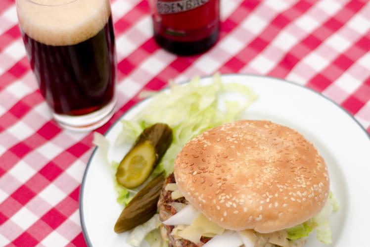 Burger au Gouda vieux et chicons