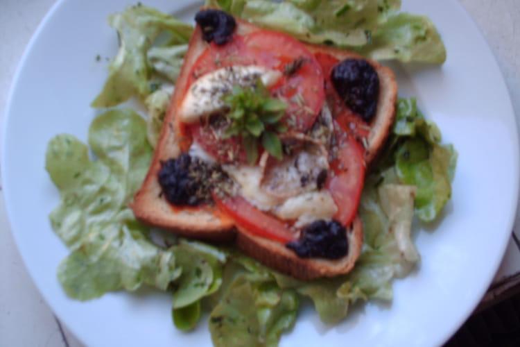 Tartine provençale