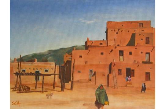 Village mexicain