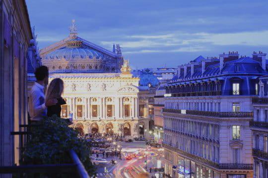 """Edouard 7, un hôtel """"couture"""" au coeur de Paris"""