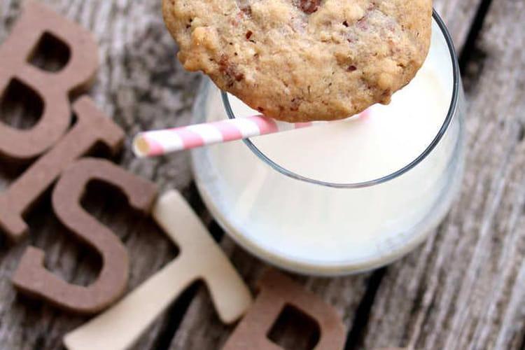 Cookies aux pépites de chocolat et amandes