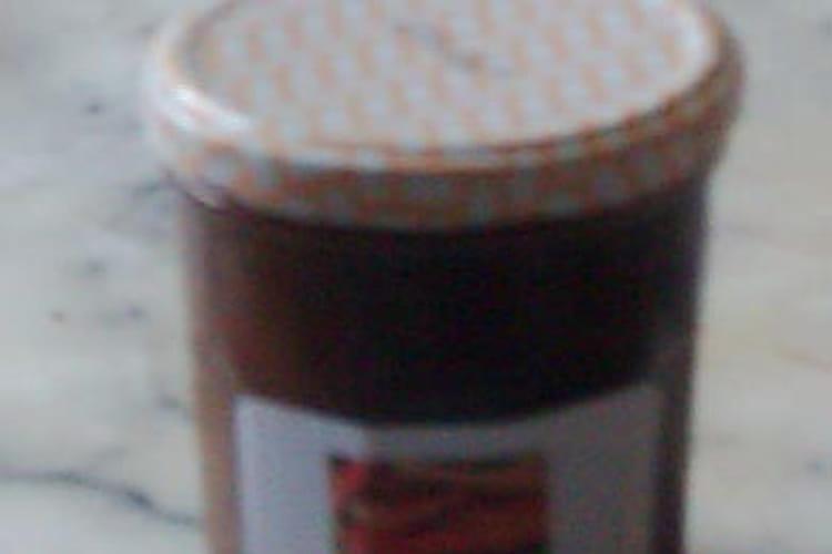 Confiture de rhubarbe aux abricots secs