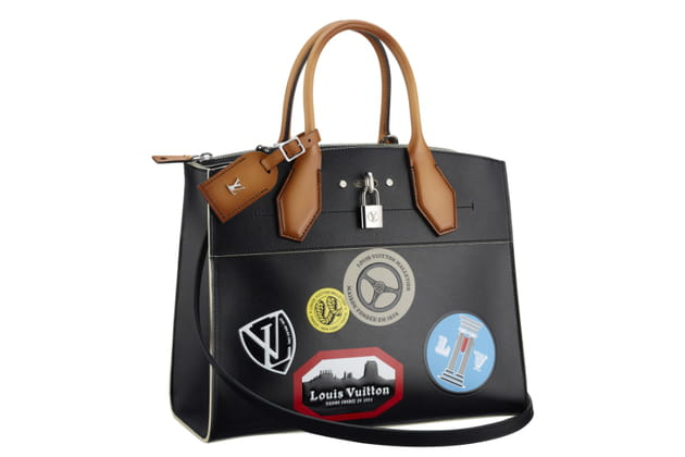 "Sac ""steamer Voyage stickers"" de Louis Vuitton"