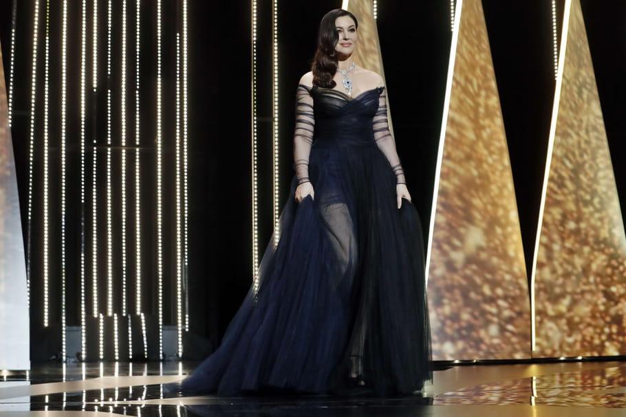 Festival de Cannes 2017: Monica Bellucci, séduisante en Dior