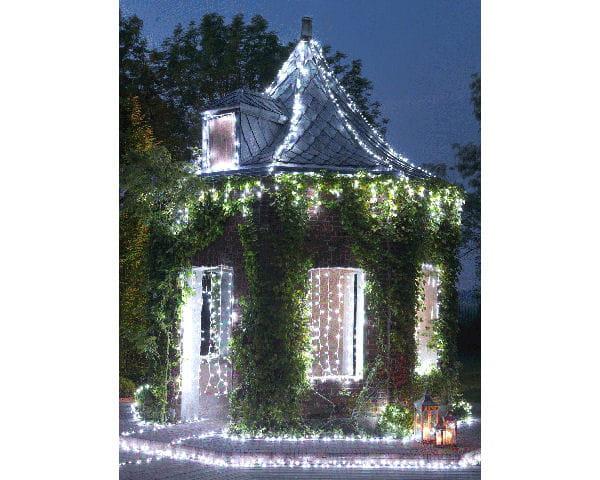 guirlandes lumineuses jardin chic. Black Bedroom Furniture Sets. Home Design Ideas