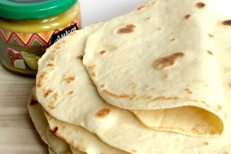 Tortillas de blé ou Wrap