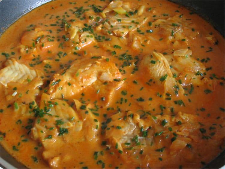 Recette de bouillabaisse de cabillaud la recette facile - Cuisiner poisson blanc ...