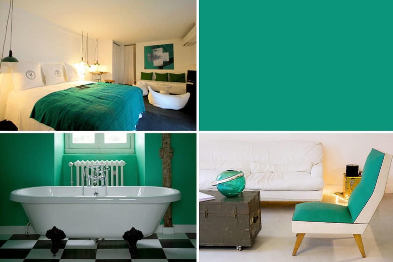 le vert meraude en d co un bijou de couleur. Black Bedroom Furniture Sets. Home Design Ideas