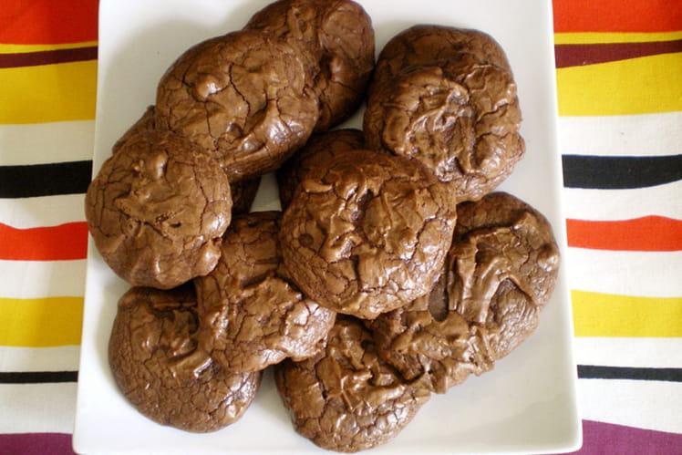 Cookies tout chocolat indécents