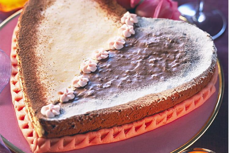 Gâteau tendre des amoureux