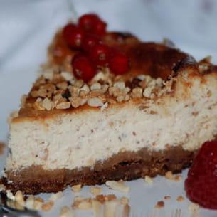 cheesecake praliné