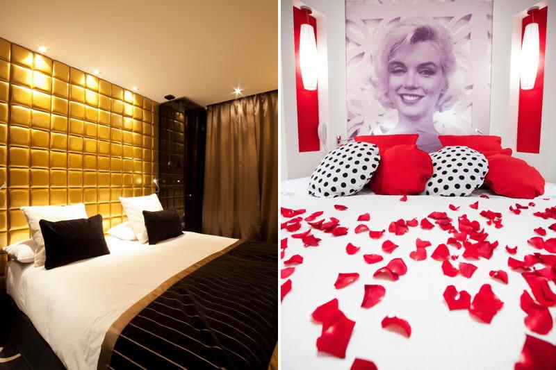 Beautiful Chambre Rouge Blanc Et Noir Photos - Yourmentor.info ...
