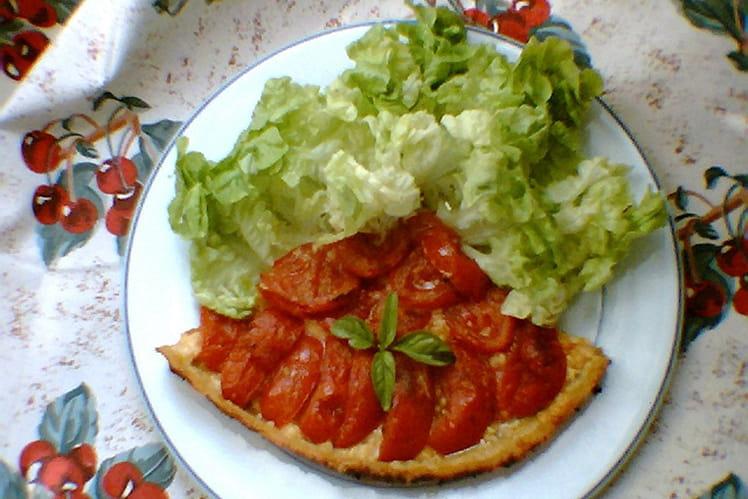 Tarte à la tomate économique