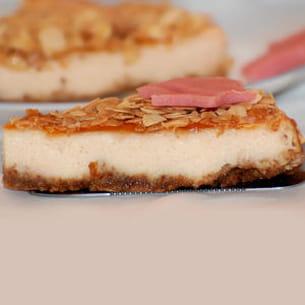 cheesecake à l'amande