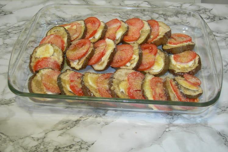Recette aubergines au four la recette facile - Cuisiner des aubergines au four ...