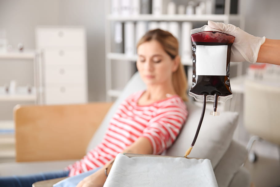 Don du sang: conditions, quantité, contre-indications