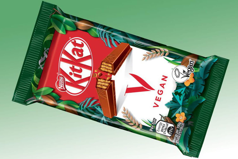 En 2021, KitKat se dégustera en version vegan