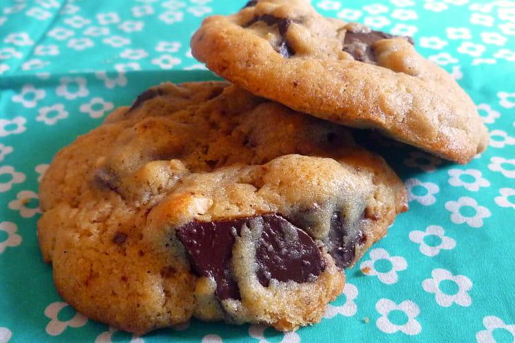 Cookies aux pépites de chocolat express