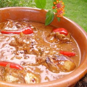 poulet rhum-coco