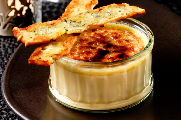 Crème brûlée au foie gras et Sauternes