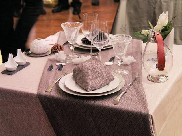 Des tables aux couleurs de l'hiver
