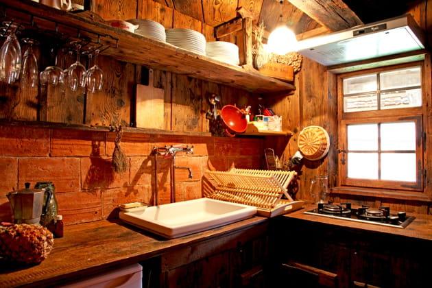 Une cuisine campagne alsacienne un brin rustique