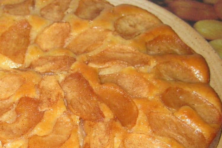 Gâteau pommes-cannelle