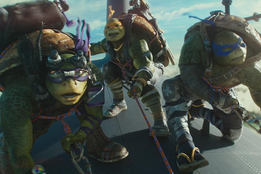 Découvrez Ninja Turtles 2 en avant-première pendant le Turtle week-end