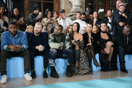 Frank Ocean, Kanye West, Kim Kardashian, Kourtney Kardashian, Kris Jenner et Corey Gamble