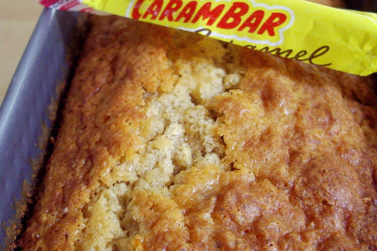 Cake à la banane et au Carambar