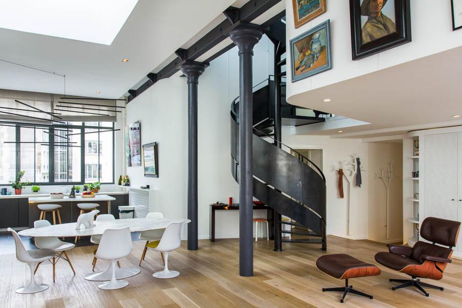 Un loft arty dans une ancienne fonderie