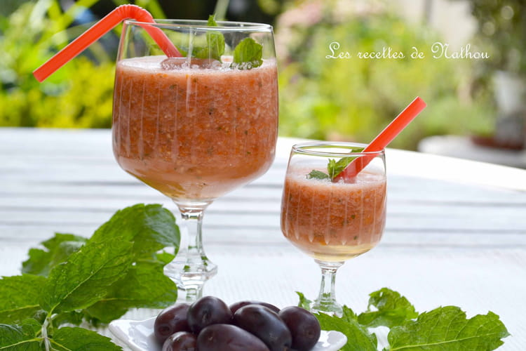 Bloody Mary aux tomates cerise du jardin