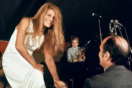 Fan au concert de Dalida, Château Chinon, 9octobre 1972