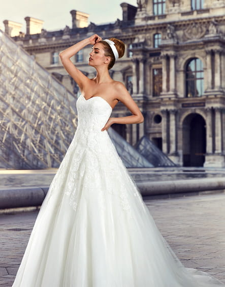 Robe de mariée Fluorina, Pronuptia