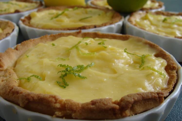 Tartelettes aux deux citrons