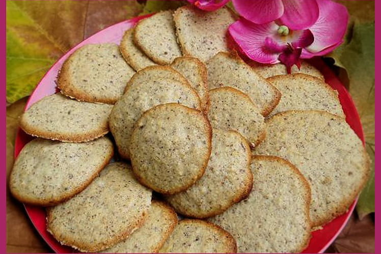 Biscuits noisettes-amandes